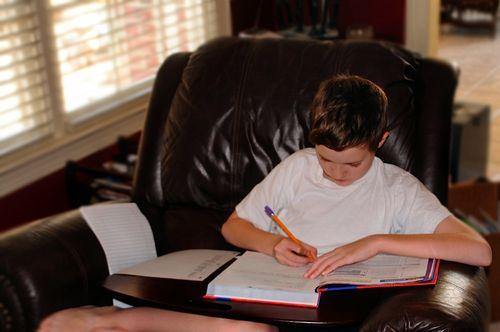 MatthewdoingSchoolwork3