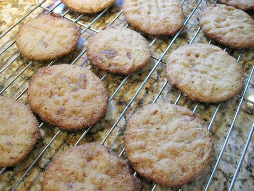 ... cookies. Your cookies will be crispy-chewy. Store in an airtight
