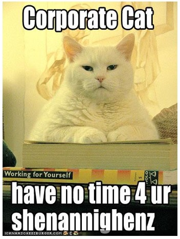 Corporate Cat