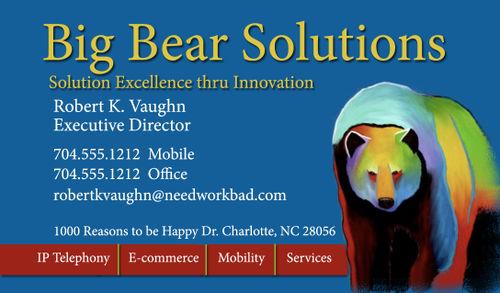 BIG BEAR SOLUTIONS FUNCARD