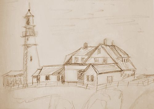 Sketch-Lighthouse