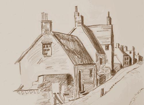 Sketch-Streetscene