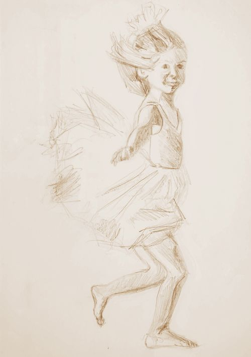 Sketch-LittleBallerina