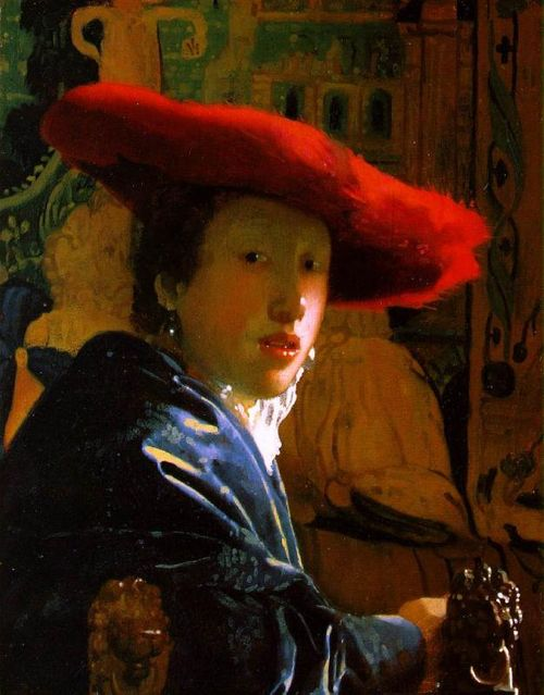 Johannes_Vermeer-girl-red-hat