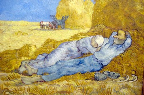 La meridienne by Van Gogh