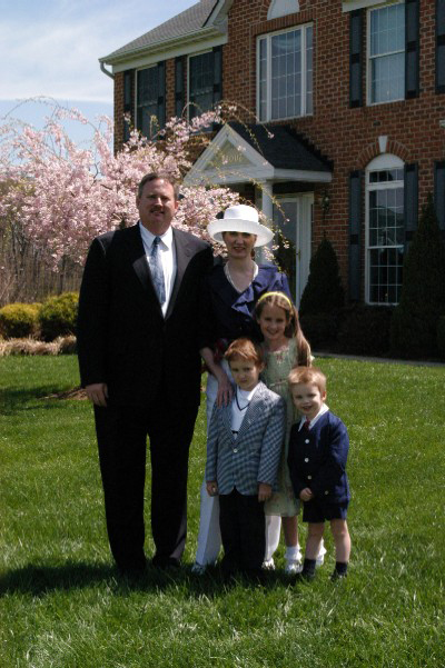 Family picture on Easter 2003