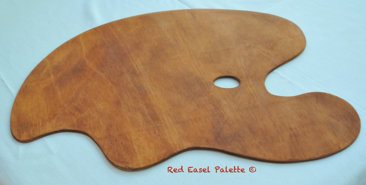 Red Easel Master's Palette