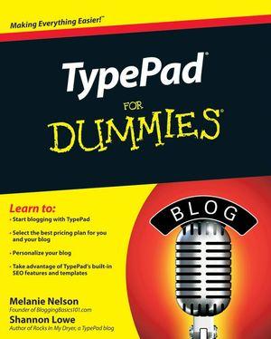 TypePadforDummiesCover